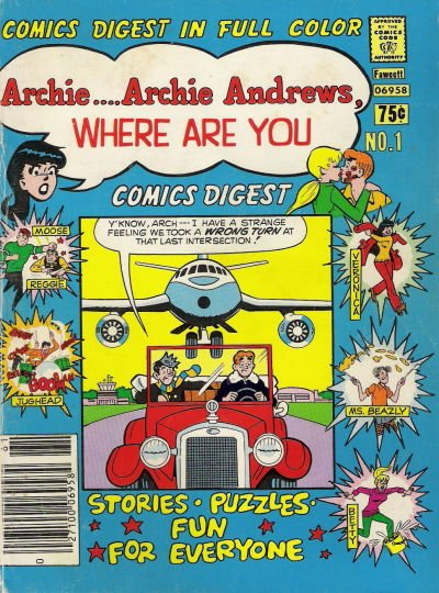 Archie Andrews: Where Are You? Comic Book Back Issues by A1 Comix
