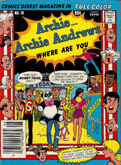 Archie Andrews: Where Are You? A1 Comix Comic Book Database