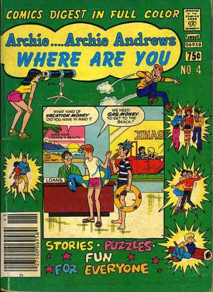 Archie Andrews, Where Are You? A1 Comix Comic Book Database