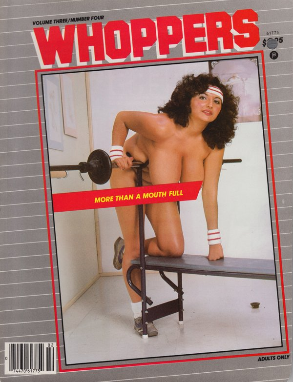 Whoppers Vol. 3 # 4 magazine back issue Whoppers magizine back copy more than a mouthful dulca cock cuddlers carrie rebecca allie marie lesbians back issue breast milk