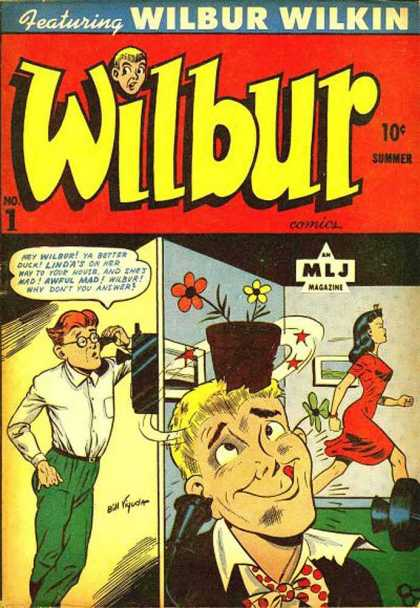 Wilbur Comic Book Back Issues by A1 Comix