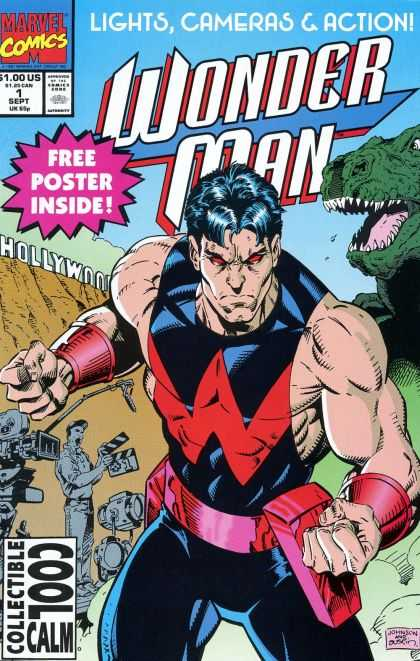Wonder Man Comic Book Back Issues of Superheroes by A1Comix