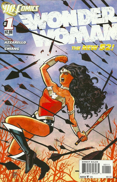 Wonder Woman New 52 Comic Book Back Issues by A1 Comix