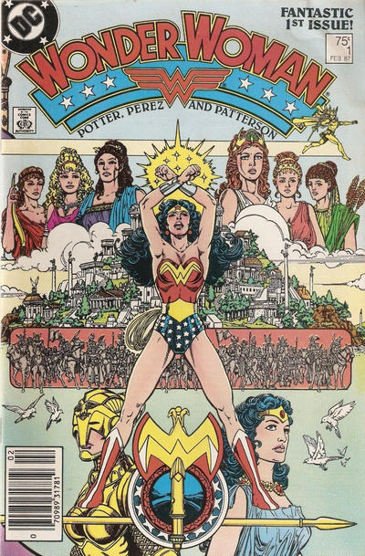 Wonder Woman Vol. 2 Comic Book Back Issues by A1 Comix