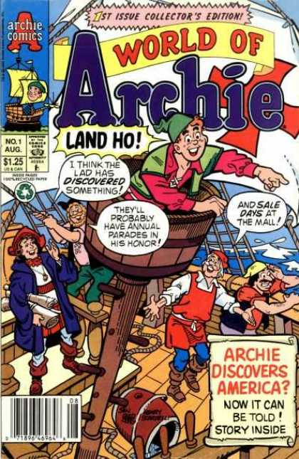 World of Archie Comic Book Back Issues by A1 Comix