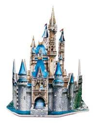 wrebbit 3d puzzles cinderella's castle, rare disney puzzle, three-dimensional 3d jigsaw puzzles disn cinderellascastle