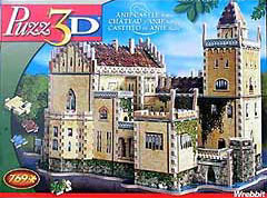 anif castle 3dpuzzle wrebitt, jiggsaw puzzles, anif, austria, gothic style castle, wrebbit puzzles, anifcastle