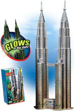 petronas towers jigsaw puzzle, 912 pieces difficult jigsaw puzzle, wrebbit puzz3d, petronastowers