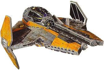 stars wars 3d puzzle, anakin skywalker's jedi starfighter jigsaw 3d puzzle by wrebitt, starwarspuzzl starwarsanakinsjedistarfighter