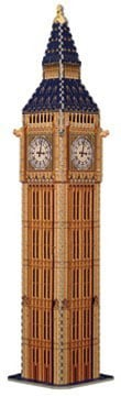 big ben 3d puzzle by wrebbit, 3diemnsional jigsaw puzzle, 373 pieces, 27inches high, puzz3d by wrebb bigben