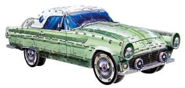 ford thunderbird jigsaw puzzle by wrebbit, 3d vehicle puzzle fordthunderbird