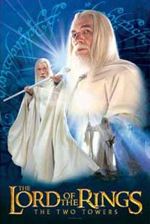 gandalf the white jigsaw puzzle, lord of the rings the two towers, 500 pieces lotr puzzle gandalfthewhite