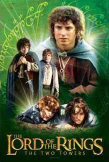 lord of the rings, two towers, jigsaw puzzle perfalock, frodo and sam, ring, wrebbit 500 pieces puzz frodoandsam