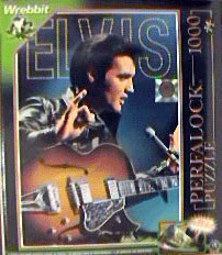 elvis presley jigsaw puzzle, perfalock wrebbit puzz, television special photo of elvis elvis68special