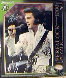 elvis presley hawaii photo, the king of rock 'n roll, 1000 pieces wrebbit perfalock puzzle 2d elvisalohafromhawaiielvisthekingofrock