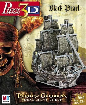 wrebbitt puzzles, pirates of the caribean jigsaw puzzles by wrebitt, rare puzzles, vehicle boat puzz piratesofthecaribbean