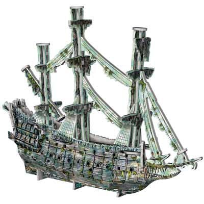 flying dutchman, wrebbit puzzle, pirates of the caribean jigsaw puzzles by wrebitt, rare puzzles, ve flying-dutchman-pirates-caribbean
