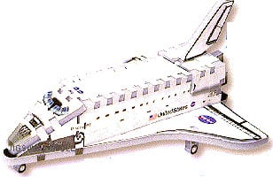 discovery space shuttle 3d wrebbit mini puzzle,puzz3d, jigsaw puzz discovery-space-shuttle-mini-3d