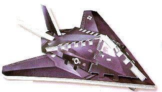 stealth fighter f117a 3d wrebbit mini puzzle,puzz3d, jigsaw puzz stealthfighter stealth-fighter-f117a-mini-puzzle