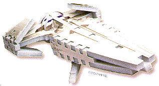 3d mini puzzle, sith speeder star wars puzzles, wrebbit puzz3d sithspeeder