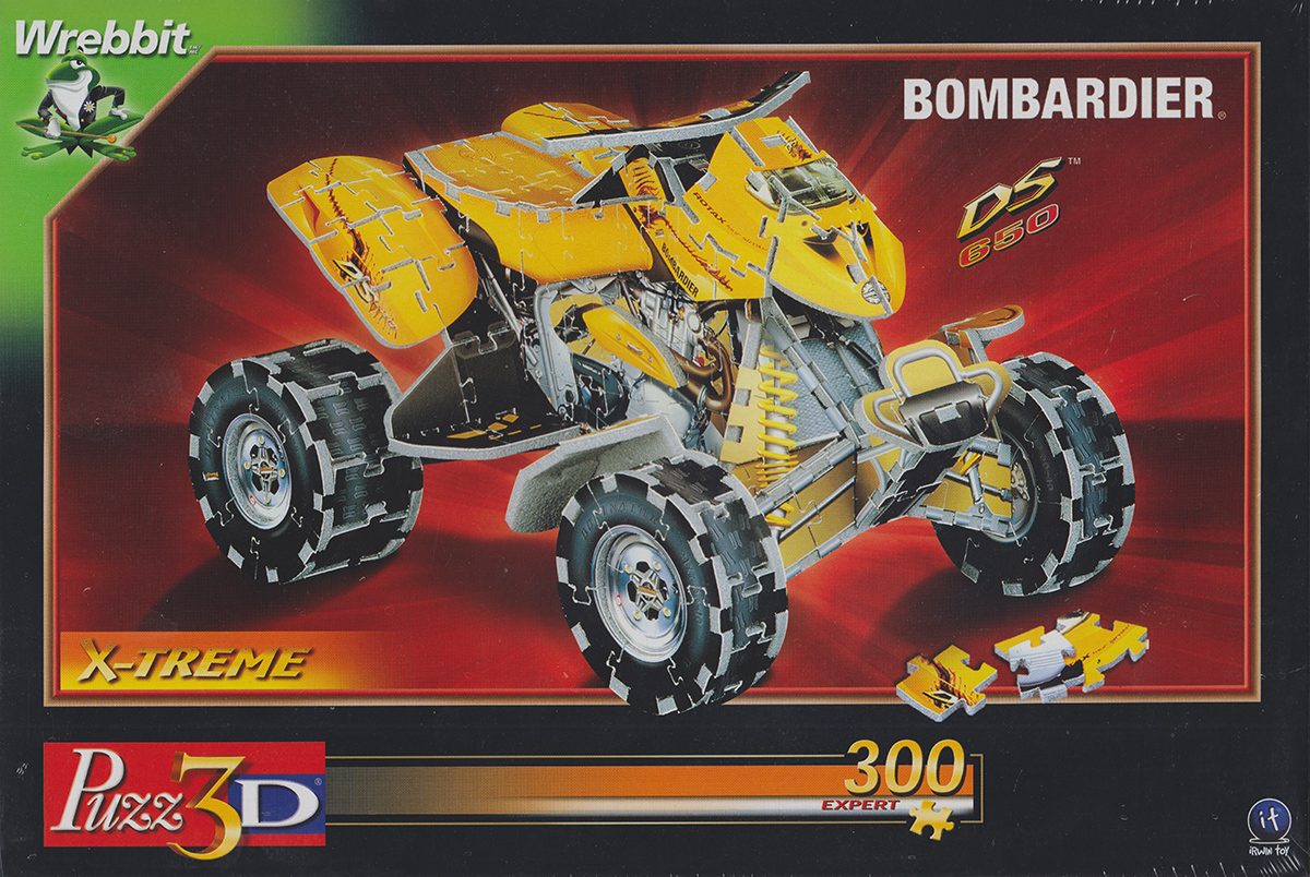 3d puzzle all terrain vehicle, ATV puzz3d, difficult puzzle for adults atvallterrainvehicle