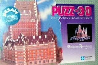 puzz3d of le chateau frontenac, quebec city jigsaw puzzles chateaufrontenac3dpuzzle