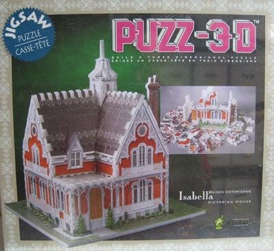 Isabella Victorian House easy 3d jigsawpuzzle puzz -3d wrebbit three dimensional puzzel casse-tete t 3d-puzzle-isabella-victorian-house