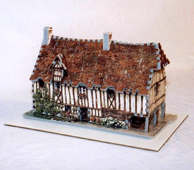 normandy house, rare puzz3d wrebbit puzzle, maison de normandie normandyhouse