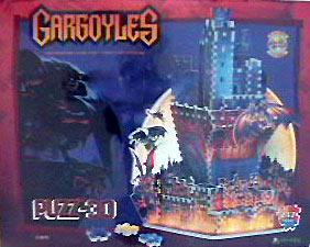 rare jigsasw puzzle, gargoyles rare puzz3d, wrebbit, easy puzz3d gargoyles