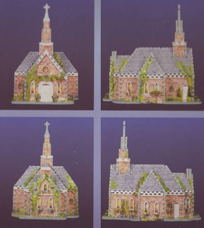 2 church street puzz3d 3d puzle wrebitt 254 pieces easy level tradition collection 3d-puzzle-2-church-street