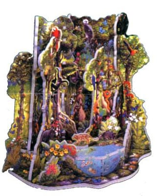 rain forest puzz3d, manufactured by wrebbit, world wild life foundation puzzle rainforest