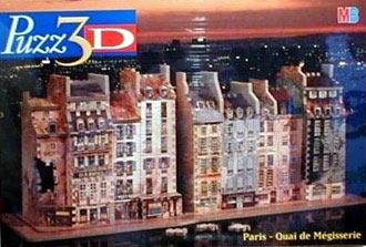 paris quai de megisserie 3d jigsaw puzzle, wrebbit rare puzz3d paris1859quaidemegisserie