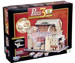 sistine chapel rare 3d jigsaw puzzle, michelangelo painting wrebbit puzz3d rare puzzles sistinechapel