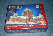 chateau frontenac rare jigsaw puzzle, tourisme quebec, fairmont puzz3d chateaufrontenac