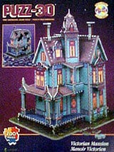 victorian mansion, rare wrebbit jigsaw puzzle, 700 pieces victorianmansion