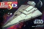 imperial star destroyer 3d jigsaw puzzle by wrebbit, rare star wars puzz3d imperialstardestroyer