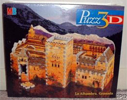 alhambra palace 3d jigsaw puzzle by wrebbit, home of nasrid sultans alhambrapalace