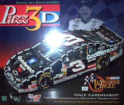 dale earnhardt 1999 chevy monte carlo 3d jigsaw puzzle by wrebbit, puzz3d daleearnhardt1999chevymontecarlo