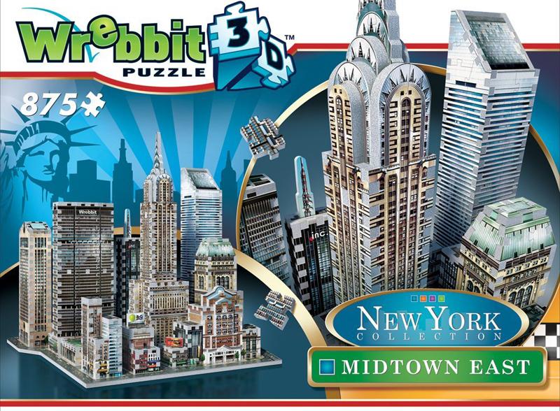 new york city midtown east 3d puzzle, empirestatebuilding puzz3d skyscraper puzzles, wrebit maker 3d midtown-east-ny-3d