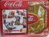 Coca-Cola Vintage Toys Puzz3D collectibles series cocacola tincan collection of antique toys made by
