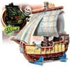3d puzles, pirate ship puzzle, glow in the dark, bateau pirate, wrebbit 3dpuzzles, puzz3d, 358pieces