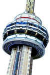 puzz3d wrebbit cn tower, canadian landmark jigsaw puzzles, 3d puzles, 761pieces, 5 feet tall 3d puzz