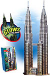 petronastowers,petronas towers jigsaw puzzle, 912 pieces difficult jigsaw puzzle, wrebbit puzz3d,