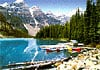 lake moraine perfalock jigsaw puzzle, 1000 pieces wrebbit series puzzles, banff national park