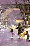 winter eve, 1000 pieces jigsaw, 2d wrebbit perfalock puzzles puzz