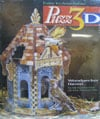 3d-puzzle-woodpecker-haven,Puzz3D Woodpecker Haven 3 dimensional jigsaw puzzle wrebit milton bradley hasbro working birdhouse e