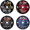 4pack cd puzzle games by wrebbit, great games bavarian mansion, orient express and more