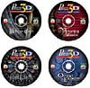 cd4gamesin1valueset,4pack cd puzzle games by wrebbit, great games bavarian mansion, orient express and more