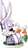 mini puzz3d, bugs bunny, rare mini puzzle wrebbit, 40 pieces