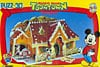 mickey's house 3d jigsaw puzzle, disneyland's mickey mouse house, rare puzz3d